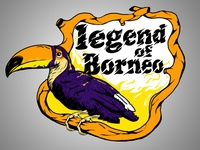 legend of borneo - illustration