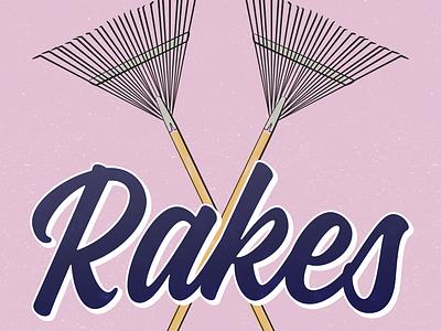 Vegmead Tool Appeal - Rakes brush rake illustration gardening vector community design