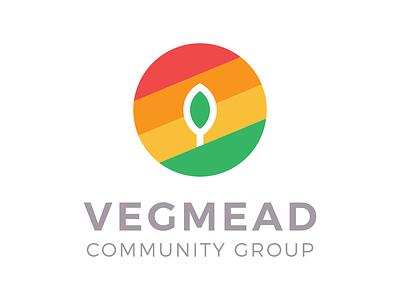 Vegmead Logo non-profit badge circle community logo design