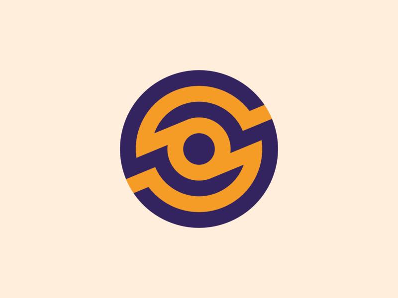 Circle Grid Logo Concept grid logo grid icon vector design circle badge logo