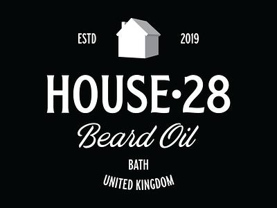 House 28 Branding house icon house typography design logo branding