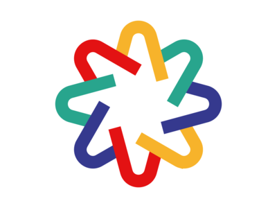 Star Abstraction geometric design logo vector star