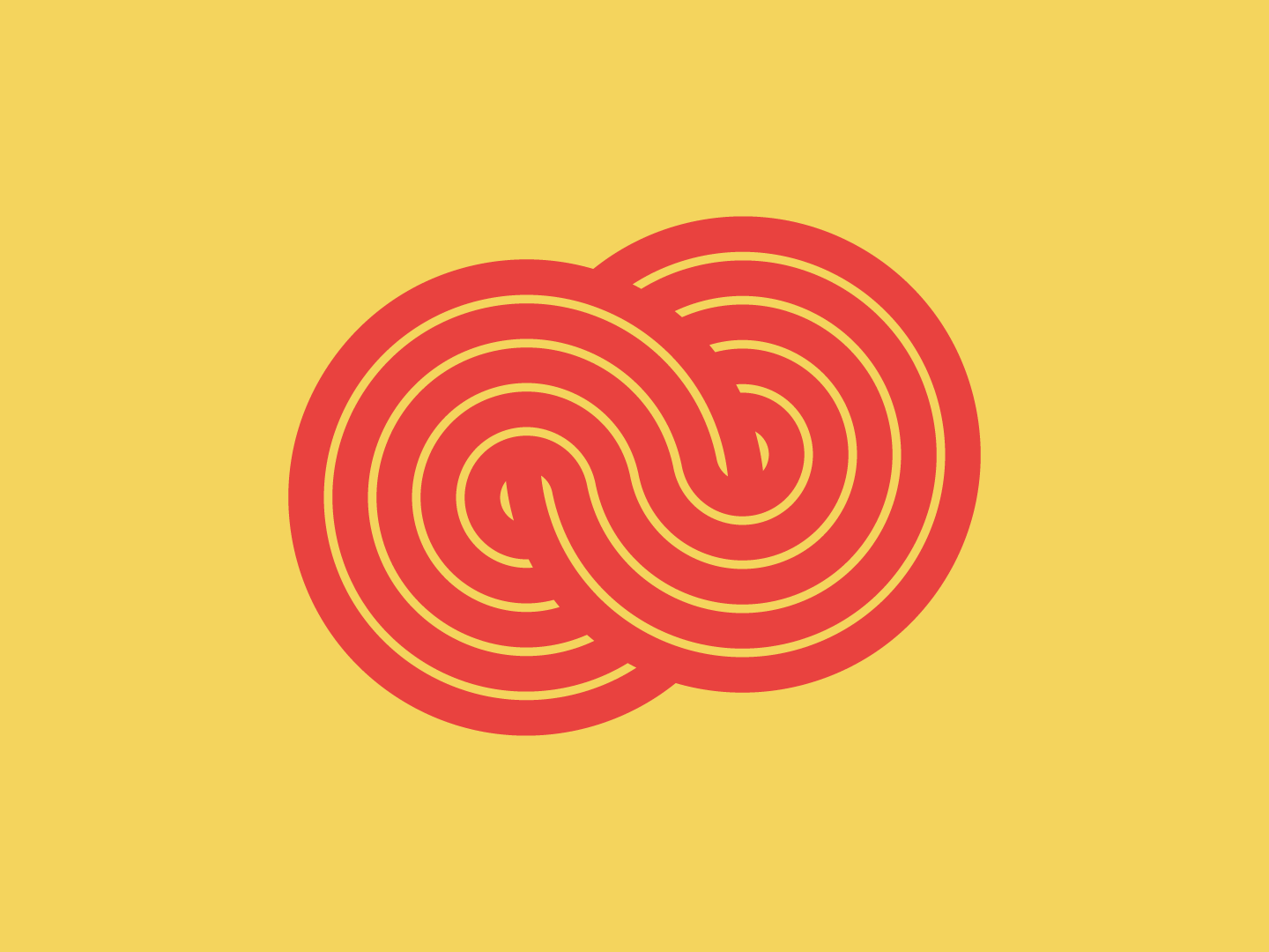 Circle figure of 8 dribbble