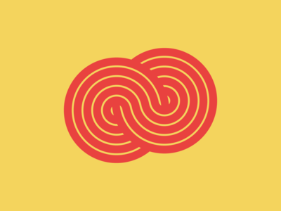 Figure Of Eight logo circle vector design figure of 8