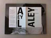 ALEY Booklet