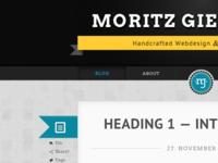 New blogdesign