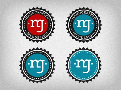 Logo design relaunch logo round typo