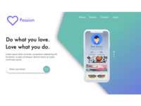 Passion - UI Design