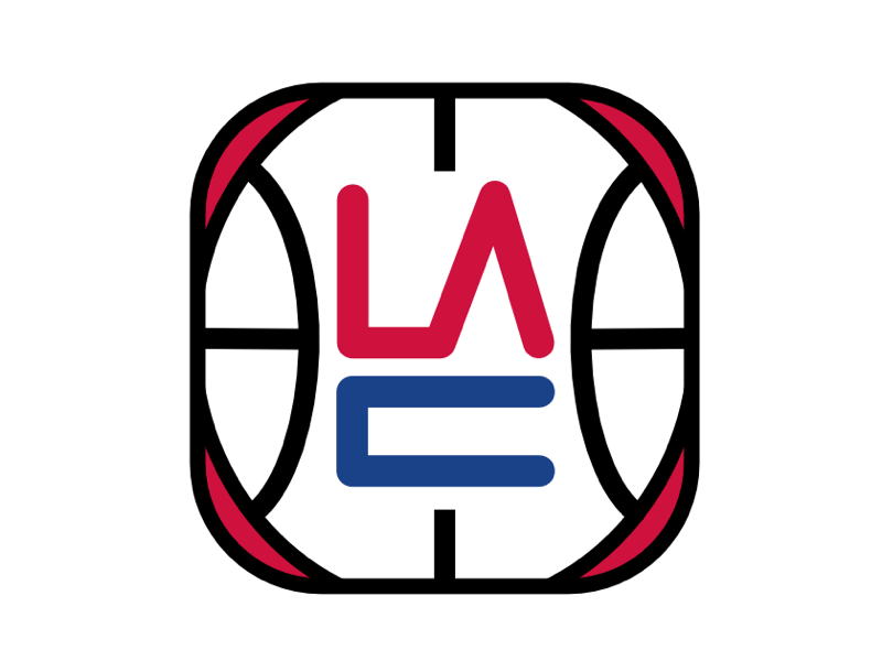 La Clippers Logo Redesign By Faisal Mohamed On Dribbble
