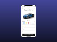 Car Builder App - UI Design