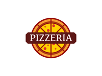 Pizzeria logo design