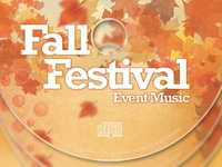 Fall Festival CD Artwork Template
