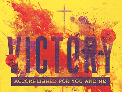 Victory church flyer template 400