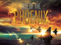 Rise of the Phoenix Movie Poster Template