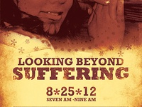 Looking Beyond Suffering Church Flyer Template