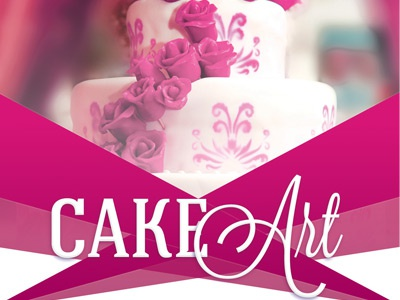 cake art event flyer template by mark taylor dribbble