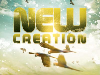 New Creation Church Flyer Church Flyer 400