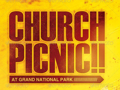 Church Picnic Flyer Templates  Hlwhy