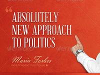 New Approach Political Flyer Template