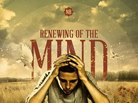 renewing of the mind church flyer template