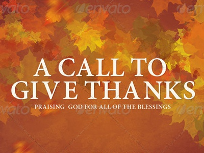 A Call To Give Thanks Church Flyer Template by Mark Taylor - Dribbble