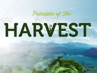 Principles Of The Harvest Church Flyer Template