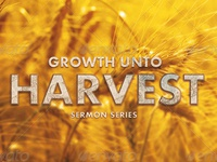 Growth Unto Harvest Church Flyer Template