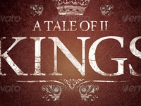 A Tale Of Two Kings Church Flyer Template