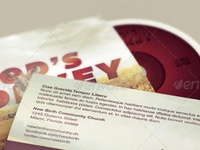 God's Donkey CD Artwork Template