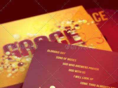 Grace CD Artwork Template