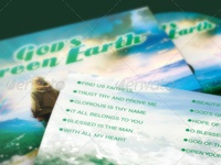 God's Green Earth CD Artwork Template