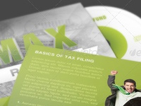 Max Refund CD Artwork Template