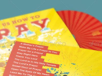 Teach us How to Pray  CD Artwork Template