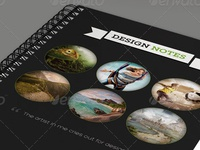Designer Notepad Template