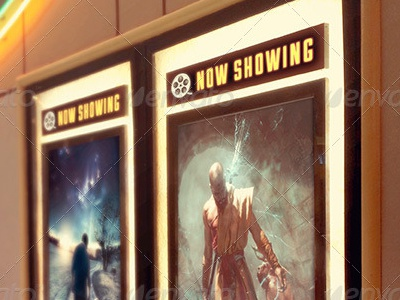 Movie Poster Mockup Image Preview