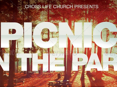 Picnic In The Park Flyer Template By Mark Taylor Dribbble