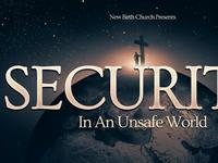 Security Church Postcard Template