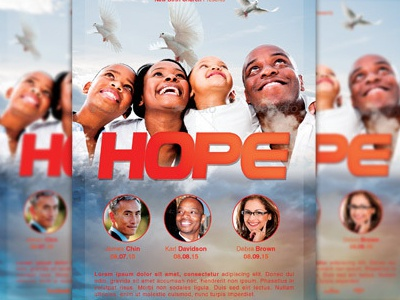 Hope church flyer image preview f