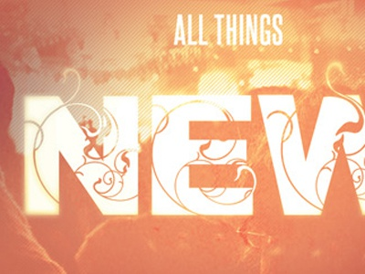 All things new church postcard template image preview 2