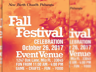 The Art of Worship Church Flyer Template green harvest layered loswl maple marketing orange psd pumpkin season sermon thanksgiving