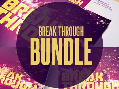 Break Through Church Template Bundle