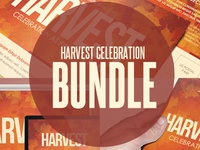 Harvest Celebrationchurch Template Bundle