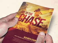 Cut to the Chase Church Bulletin Template