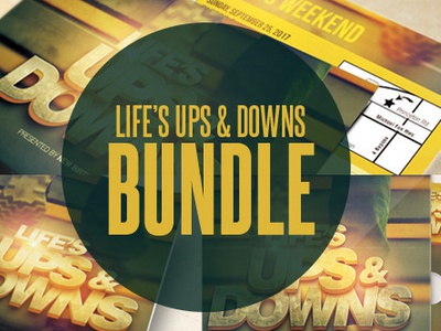 Lifes Ups And Downs Template Bundle