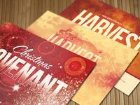 Holiday Church Postcard Bundle