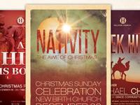 Christmas Church Flyer Bundle