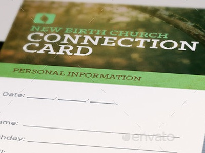 Grow With Us Connection Card Template information gospel event evangelism creative designs connection congregation concert clouds church card