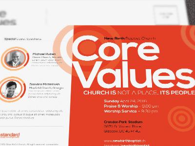 Core Church Flyer Template Tmb design workshop design creative designs convention flyer concert church template church marketing church gala church brunch