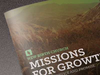 Missions For Growth Church Brochure youth startup seminar rescue poor planner non-profit modern missions brochure missions missionary