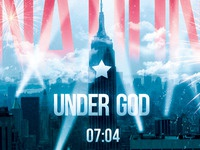 One Nation Under God Flyer and CD Template